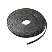 HICTOP 5 Metres GT2 2mm pitch 6mm wide Timing Belt for 3D printer CNC