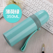 lzzfw Insulation Cup The Insulated Cup of male and female students children large capacity portable outdoor car travel mugs, Stainless Steel