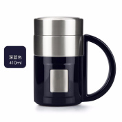 lzzfw The insulated cup in the upscale business men and women stainless steel water bowl office cup insulated cup B