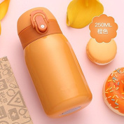 Insulation Cup lzzfw Mini Portable Cute Creative Stainless Steel Belly Insulation Cup, A