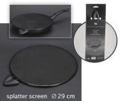 29cm SPLATTER SCREEN WITH HANDLE ANTI SPLASH GUARD COVER MESH
