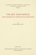 The Rev. John Bowle