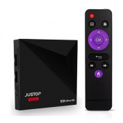[2017 Latest] JUSTOP® A5 Android 7.1 Nougat TV Box HD Smart Media Player 4K HDMI 2.0 Rockchip 3328 Quad Core Built In WIFI USB 3.0