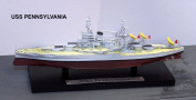 USS Pennsylvania Battleship - 1:1250 Scale Model