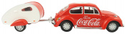Coca Cola 440032 Car and Trailer Model Toy