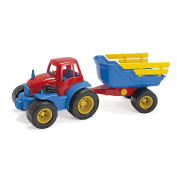 Andreu Toys Andreu Toys012135 Dantoy Tractor with Trailer Toy