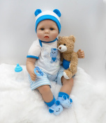 Doll House 60cm Hot Sale Real Looking Twins Reborn Baby Boy or Girl Dolls Vinyl Silicone Reborn Baby Toys