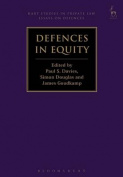 Defences in Equity (Hart Studies in Private Law