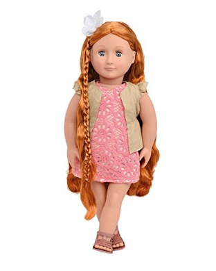 Our Generation :46cm Hairgrow Doll : Patience