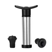 TopEUR Wine Vacuum Saver Pump Preserver with 2 Pcs Vacuum Bottle Stoppers Giftbox