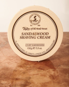 Taylors of Old Bond Street 150g Sandalwood Traditional Shaving Cream Tub TAY1001