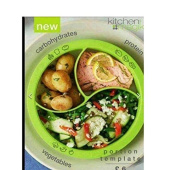 Brand New Avon Portion Template! Exclusive! To Control Meal Portions. Microwave And Dishwasher Safe. Plastic. Takes The Guesswork Out Of Right Sizing Meals, No Measuring Necessary!