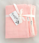 PureCloth Super Soft 2 Piece Set Cotton Baby/Toddler Everything Blanket with Pillowcase for travel, school, crib, stroller