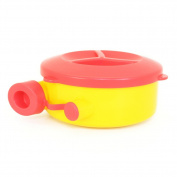 Formula Dispenser, Dearya No-Spill BPA-Free Fun Formula Container with Swivel Lid - 250ml 0M+