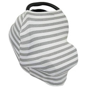 Leeaw Multi Use Carseat Canopy Shopping Cart Nursing Cover Infinity Scarf
