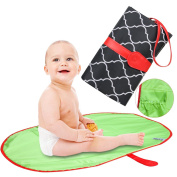 Willcome Multifunction Nappy Changing Clutch Nursery, Portable Waterproof Changing Station Mat Pad for Baby Infants and Toddlers Travel Accessories