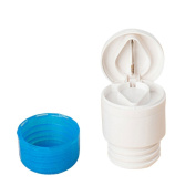 MA-on 2 in 1 Round Pill Cutter Powder Tablet Medicine Splitter Case Cover
