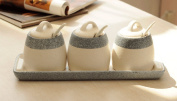 Spice Jar Set Creative Kitchen Simple Condiment Bottles Seasoning Box Storage Jar