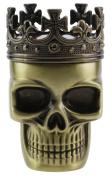 3 Pieces Zinc Alloy Durable Crowned Skull Design Grinder Copper