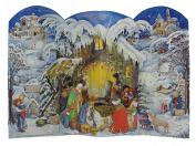 Sellmer 3-D Nativity Scene Advent Calendar