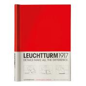 LEUCHTTURM1917 341740 Sprinback binder PEKA, for 150 Sheets, Red