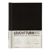 LEUCHTTURM1917 318056 Sprinback binder PEKA, for 150 Sheets, Black