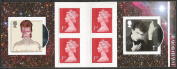 DAVID BOWIE 2017 RETAIL NVI STAMP BOOKLET OF SIX 1ST CLASS STAMPS