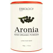 Raw Organic Aronia Powder 150g - For Healthy Heart - Rich in Anthocyanins - Powerful Antioxidant - Chokeberry