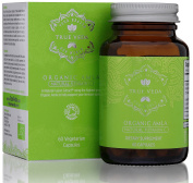 Organic Amla Vitamin C Capsules - Certified Organic by Soil Association | Most Potent Natural Source of Vitamin C | Immune Boosting and Healthy Ageing | Cholesterol Balance | Ayurveda | Superfood | 60 Easy Swallow Vegetarian Pills