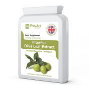 PROWISE OLIVE LEAF EXTRACT 6750mg 60 capsules, manufactured in the UK to GMP code of practise, suitable for vegetarians and vegans