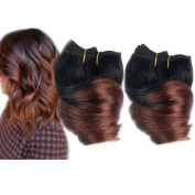 Emmet 20cm Brazilian Spring Curl Hair Weaves 2pcs/Lot 50g/pc 100% Human Hair Weft