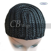 Cbwigs Braids Cap for Easier Sew in Hair Weft Cornrow Cap for Wefts