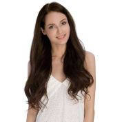 KINGHAIR Chocolate Brown(#4) Clip In Remy Hair Extensions - 50cm - 170G Full Head Set