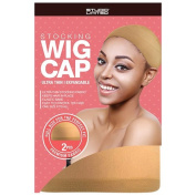 12-PACK ! Studio Limited Perfect Fit Ultra Thin & Expandable Stocking Wig Cap