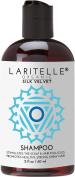 Laritelle Organic Travel Size Shampoo 60ml | Chamomile, Geranium + Biotin+Keratin + Follicle Stimulating Rosemary, Ravintsara & Myrtle | Hair Loss Prevention, Clarifying, Softening, Strengthening | GF