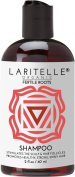 Laritelle Organic Travel Size Shampoo 60ml | Fortifying, Strengthening & Rejuvenating | Stops Hair Shedding, Promotes New Hair Growth | Ayurvedic Herbs, Lavender, Ginger, Rosemary, Patchouli & Cloves