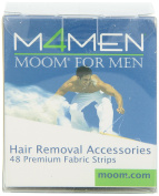 Moom For Men Fabric Strips 48-Count Boxes