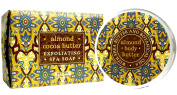 Greenwich Bay ALMOND Bundle of BODY BUTTER 240ml and LARGE BLOCK Spa Soap 310ml with Shea Butter, Cocoa Butter and Almond Oil