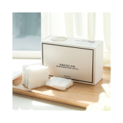 Huluwa Cotton Pads Double-sided Makeup Cotton for Makeup Removal, Facial Cleansing, Outdoor Travel, 100% Natural Cotton, No Skin Irritation, 120pcs