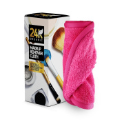 Makeup Remover Cloth by 24K Organic- Chemical Free Cleansing Towel