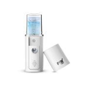 Huluwa Facial Mist Sprayer Handy Nano Steamer Water SPA Moisturising & Hydrating Mini Beauty Instrument, Protable, USB Rechargeable with Calbe