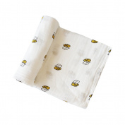 YeahiBaby Newborn Baby Infant Muslin Gauze Cotton Swaddle Blanket Wrapping