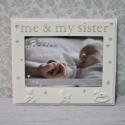 BAMBINO ME & MY SISTER 6 X 4 PHOTO FRAME