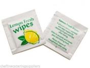 50x Lemon Scented Fresh Hand Wet Wipe