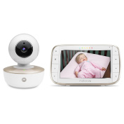 Motorola MBP855 Connect Video Baby Monitor With Portable Wi-Fi Remote Access Camera, 13cm