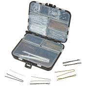 Bobby Pin Accessory Kit - Hairpin Set Mini - Hair Styling Essentials Case