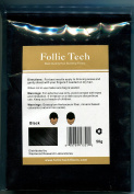 Follic Tech Hair Building Fibres Black 50 Grammes Refill Highest Grade Refill That You Can Use for Your Bottles from Competitors Like Toppik®, Xfusion®, Miracle Hair®, Made In The USA, not China!