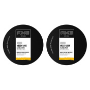 AXE Messy Look Hair Paste, Flexible 80ml, 2 Count