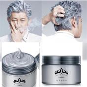 GARYOB Silver Grey Hair Wax Gel Cream 130ml Pomades Mud Natural Silver Ash Matte Quickly Strong Modelling Man and Woman