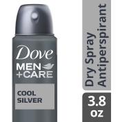 Dove Men+Care Dry Spray Antiperspirant Deodorant, Cool Silver 110ml